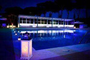 appio claudio piscina per feste