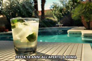 festa 18 anni all'aperto a roma
