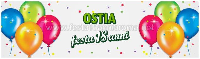 Festa 18 anni a Ostia