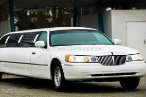 limousine bianca a roma