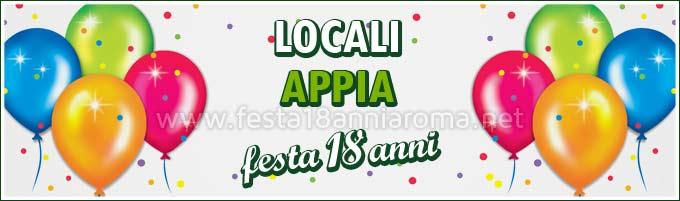 Locali per feste Roma Appia