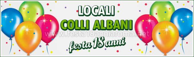 Locali per feste Roma Colli Albani