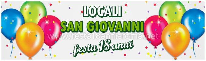 Locali per feste Roma San Giovanni