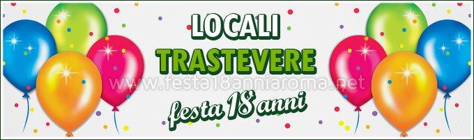 Locali per feste Roma Trastevere