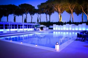 piscina per feste private a roma