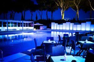 piscina per feste a roma