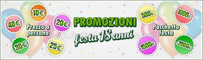 Festa 18 anni Roma in Promozione