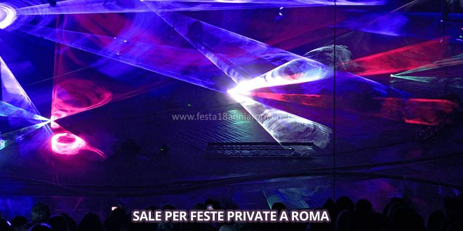 sale per feste private a roma