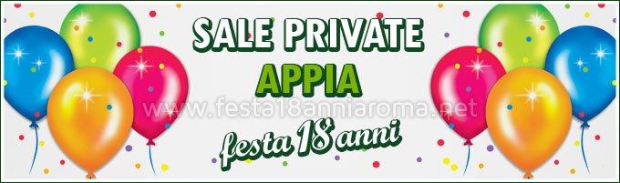Sale private per feste Roma Appia