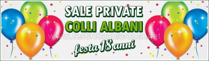 Sale private per feste Roma Colli Albani