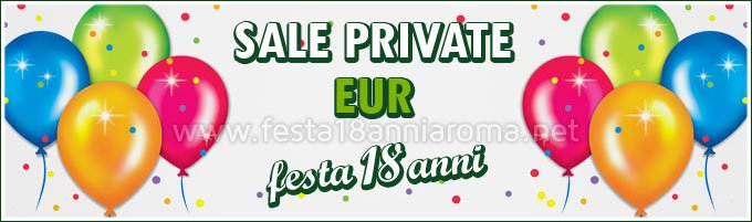Sale private per feste Roma Eur