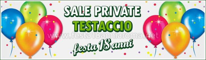 Sale private per feste Roma Testaccio