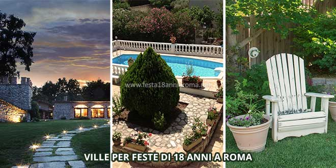 Ville per organizzare a roma feste 18 anni - Piscine roma nord ...