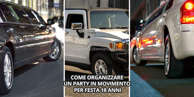 come organizzare un party in movimento