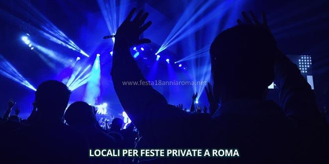 locali per feste private a roma